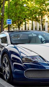 Preview wallpaper bugatti veyron, grand sport, sportcar, luxury