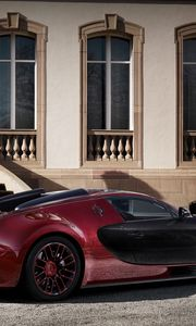 Preview wallpaper bugatti, veyron, side view