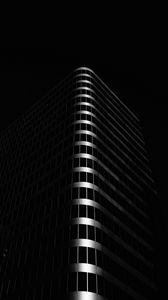 Preview wallpaper building, architecture, black, dark