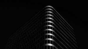 Preview wallpaper building, architecture, black, dark
