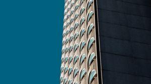 Preview wallpaper building, architecture, facade, windows, skyscraper, multi-storey