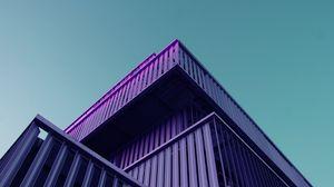 Preview wallpaper building, architecture, facade, symmetry, minimalism