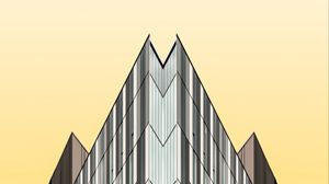 Preview wallpaper building, architecture, minimalism, geometry