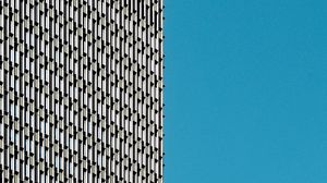 Preview wallpaper building, architecture, windows, facade, sky, minimalism