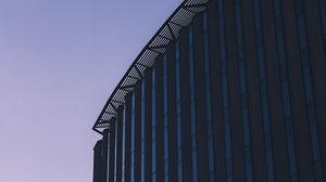 Preview wallpaper building, facade, minimalism