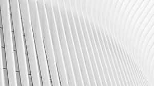 Preview wallpaper building, minimalism, white, architecture