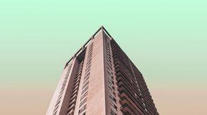 Preview wallpaper building, skyscraper, architecture, minimalism