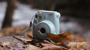 Preview wallpaper camera, autumn, foliage