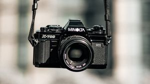 Preview wallpaper camera, retro, blur, belt