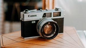 Preview wallpaper camera, retro, vintage, blur