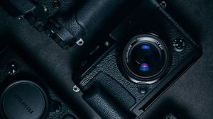 Preview wallpaper cameras, retro, lens, vintage, technology
