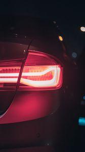 Preview wallpaper car, lantern, lights, red