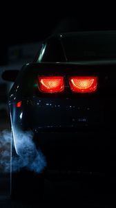Preview wallpaper car, lights, night