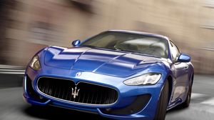 Preview wallpaper car, racing, maserati
