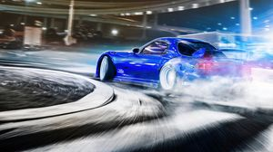 Preview wallpaper car, sportscar, drift, speed, racing