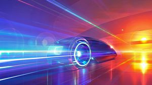 Preview wallpaper cars, traffic, night, light