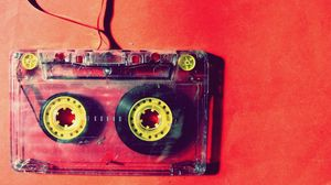 Preview wallpaper cassette, music, vintage, film