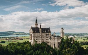 Preview wallpaper castle, neuschwanstein, bavaria, germany