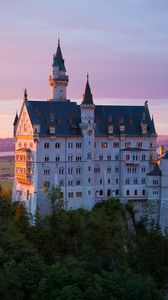 Preview wallpaper castle, neuschwanstein castle, architecture, bavaria, germany