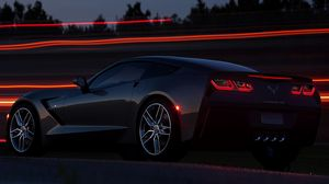 Preview wallpaper chevrolet, corvette, stingray c7