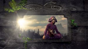 Preview wallpaper child, costume, elephant, fantastic