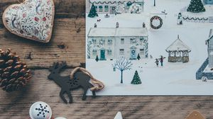 Preview wallpaper christmas, art, toys