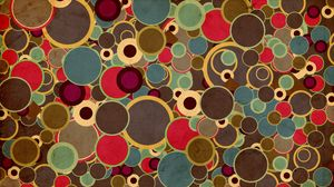 Preview wallpaper circles, background, surface