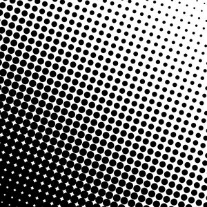 Preview wallpaper circles, many, increase, bw