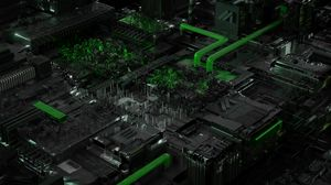 Preview wallpaper circuit, processor, chip, acid