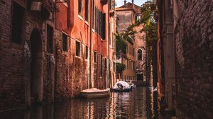 Preview wallpaper city, buildings, water, canal, venice