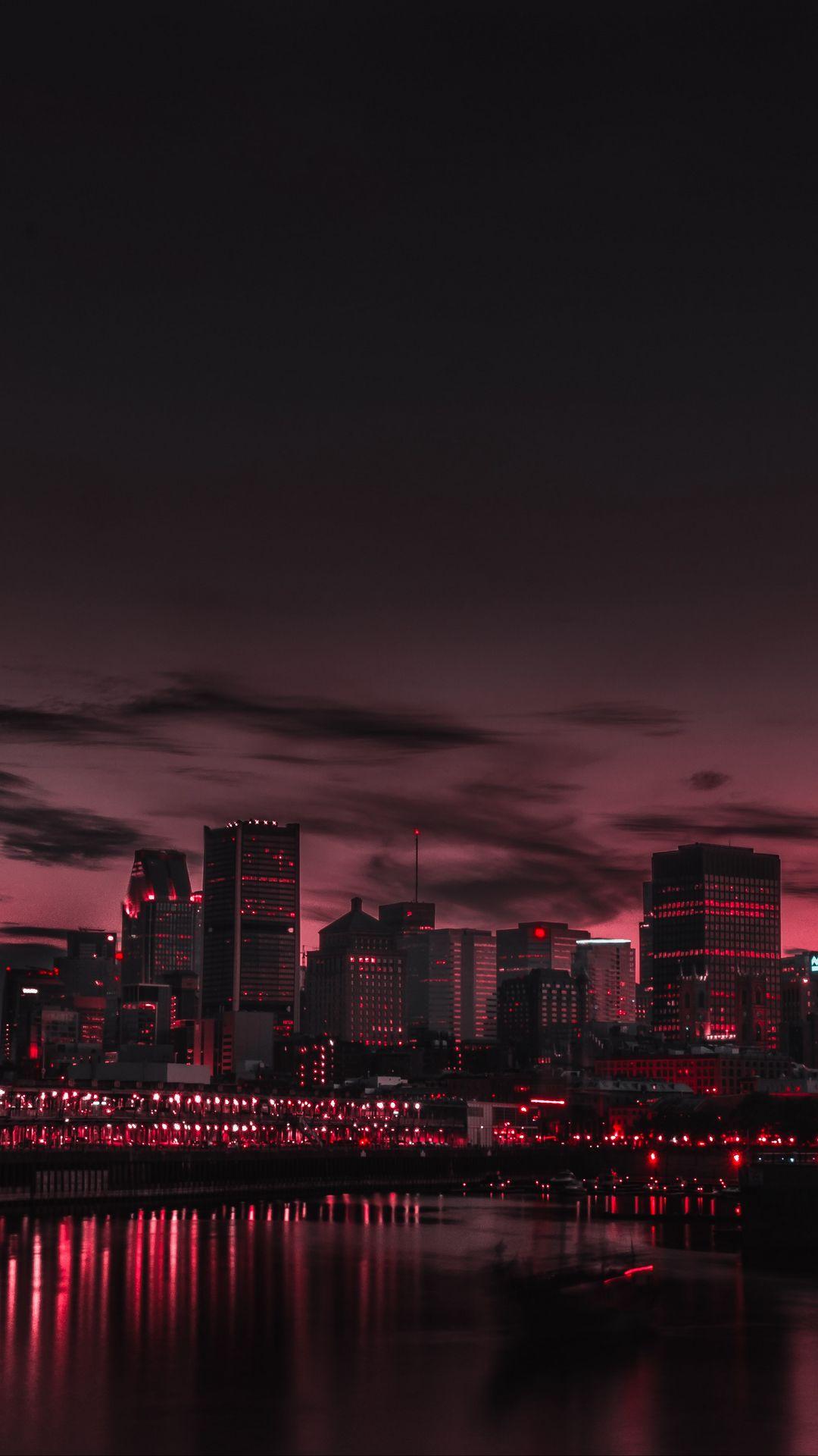 1080x1920 Wallpaper city, night, panorama