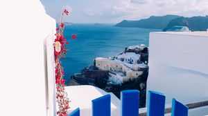 Preview wallpaper city, resort, sea, buildings, oia, greece