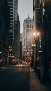 Preview wallpaper city, road, street, buildings, cars