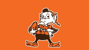 Preview wallpaper cleveland browns, logo, american football