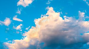 Preview wallpaper clouds, sky, day, bright