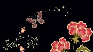 Preview wallpaper colors, patterns, glitter, butterfly, fantasy