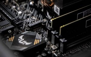 Preview wallpaper computer, motherboard, cooler, hardware, computer technology