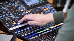 Preview wallpaper control panel, equipment, hand, dj, technology