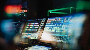 Preview wallpaper control panel, monitor, equipment, technology, light, dark