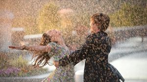 Preview wallpaper couple, dance, happiness, rain, wet, love