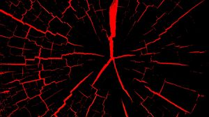 Preview wallpaper cracks, red, black