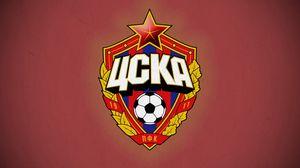 Preview wallpaper cska, emblem, ball, football