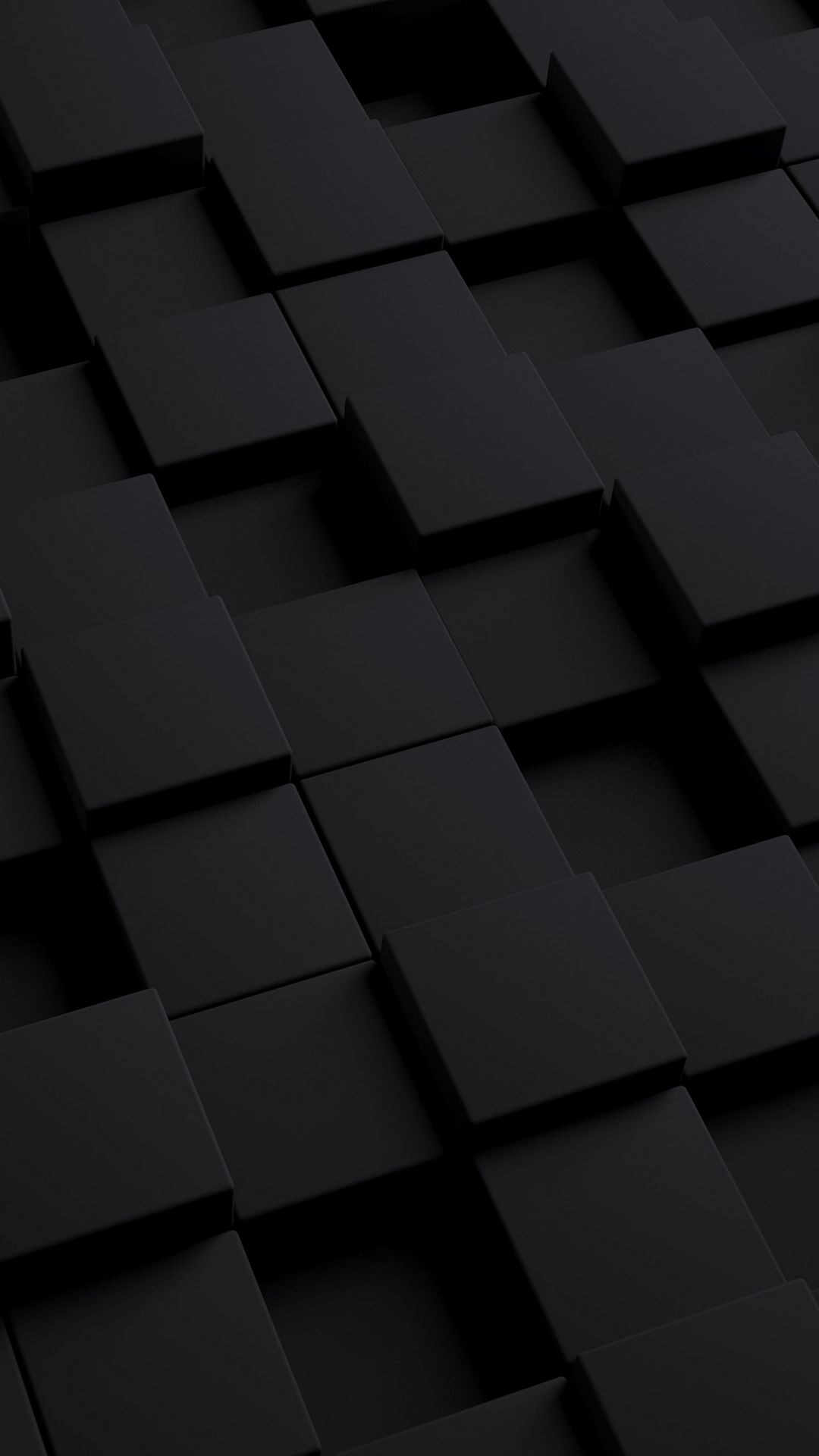1080x1920 Wallpaper cube, dark, texture, shape