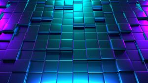 Preview wallpaper cubes, 3d, texture, structure, surface