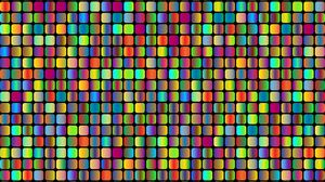 Preview wallpaper cubes, colorful, bright, patterns, texture