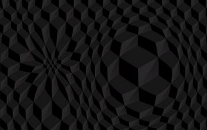 Preview wallpaper cubes, volume, black, texture, structure