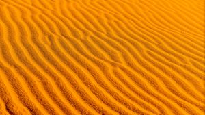 Preview wallpaper desert, sand, wavy, texture