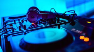 Preview wallpaper dj, headphones, installation, electronics, equipment, music, sound