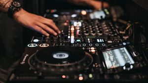 Preview wallpaper dj, music, disco, setup, buttons