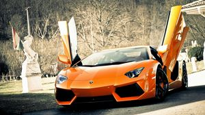 Preview wallpaper doors, style, cars, lamborghini